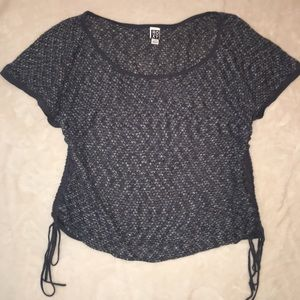 Roxy Blue Knitted Top